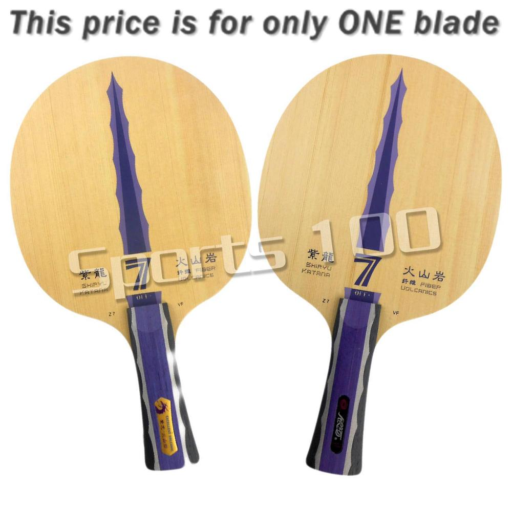 Yinhe Milky Way Galaxy Shiryu Katana Z7 VF table tennis PingPong blade 2015 The new listing Favourite original yinhe milky way galaxy nr 50 rosewood nano 50 table tennis pingpong blade