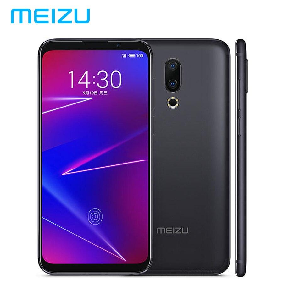 Mondial MEIZU 16 16X LTE 4G SIM Double Téléphone Portable 6 GB 64 GB Snapdragon710 OctaCore 6.0 pouces 1080x2160 p 20MP + 12MP Caméra Android 8.0