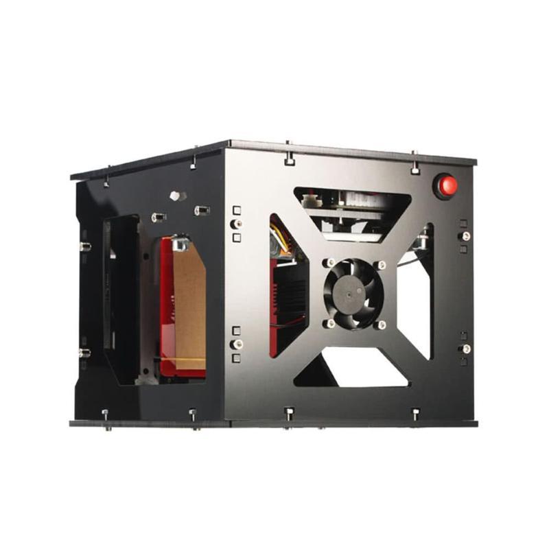 DK-8-KZ 3D1000mW USB Desktop Laser Stecher DIY Hause Holz Bambus Kunststoff Gummi Schneiden Gravur Maschine Laser Drucker