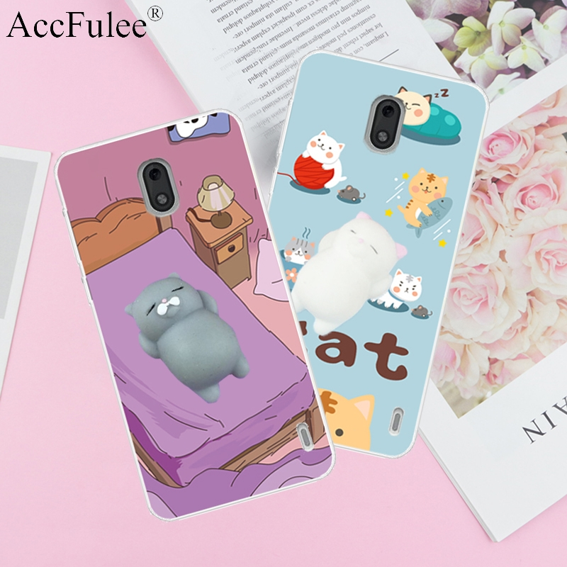 Fitted Cases Practical Squishy 3d Toys Phone Cat Case For Google Pixel 2 Xl Pixel2 3 3xl Love Heart Candy Cover Funny Cat Soft Case