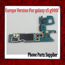 Original for Samsung Galaxy S5 G900F Motherboard with Chips,Europe Version Unlocked for S5 G900F Mainboard,DHL Free Shipping