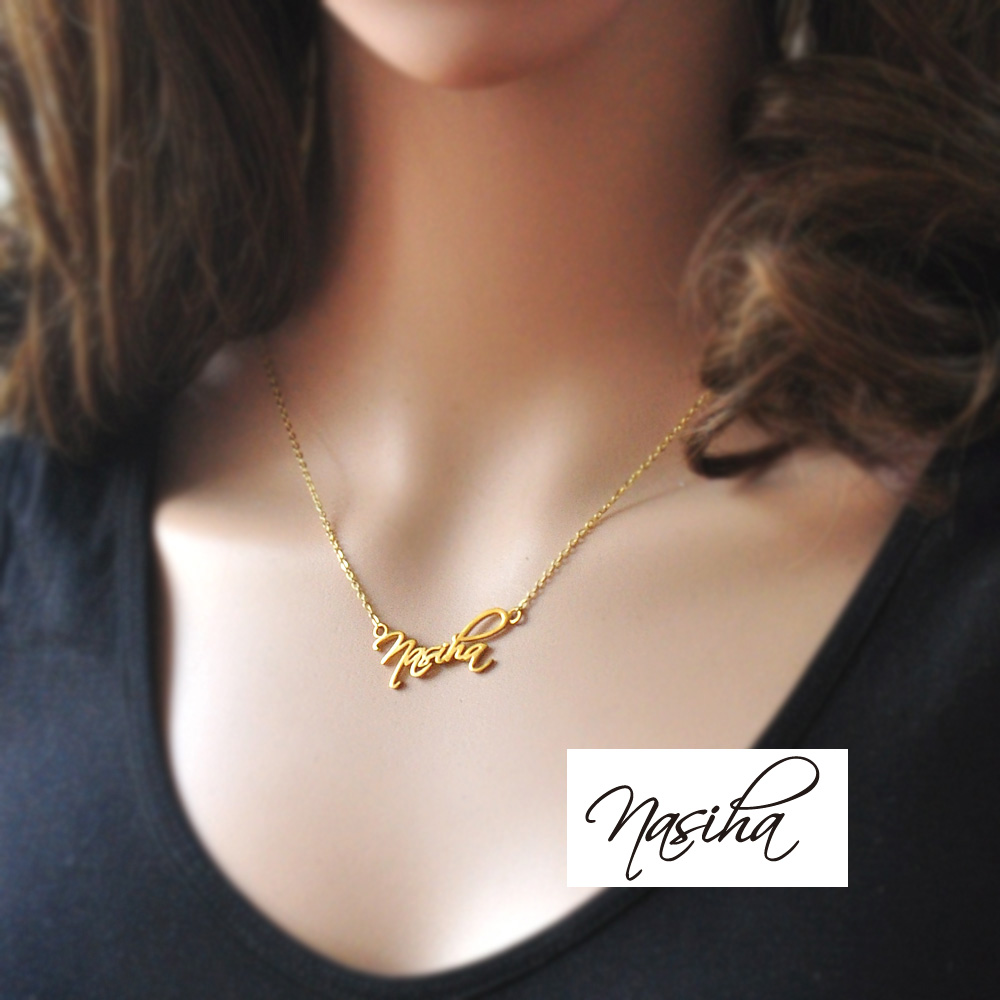gold silver walmart sterling personalized com ip girls over chains necklace name