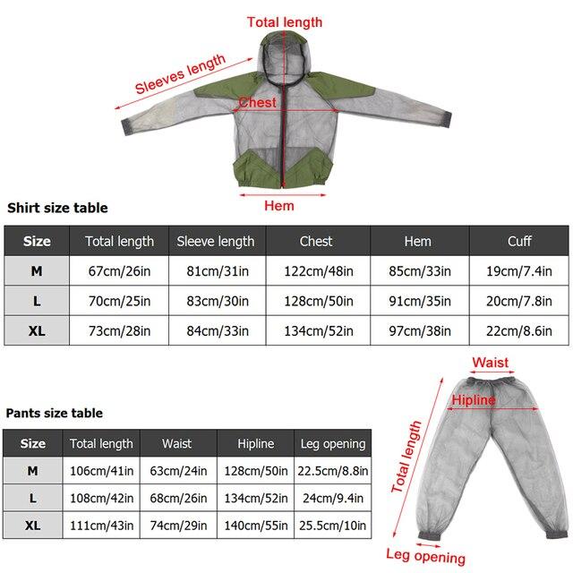 Outdoor Mosquito Repellent Suit Bug Jacket  1