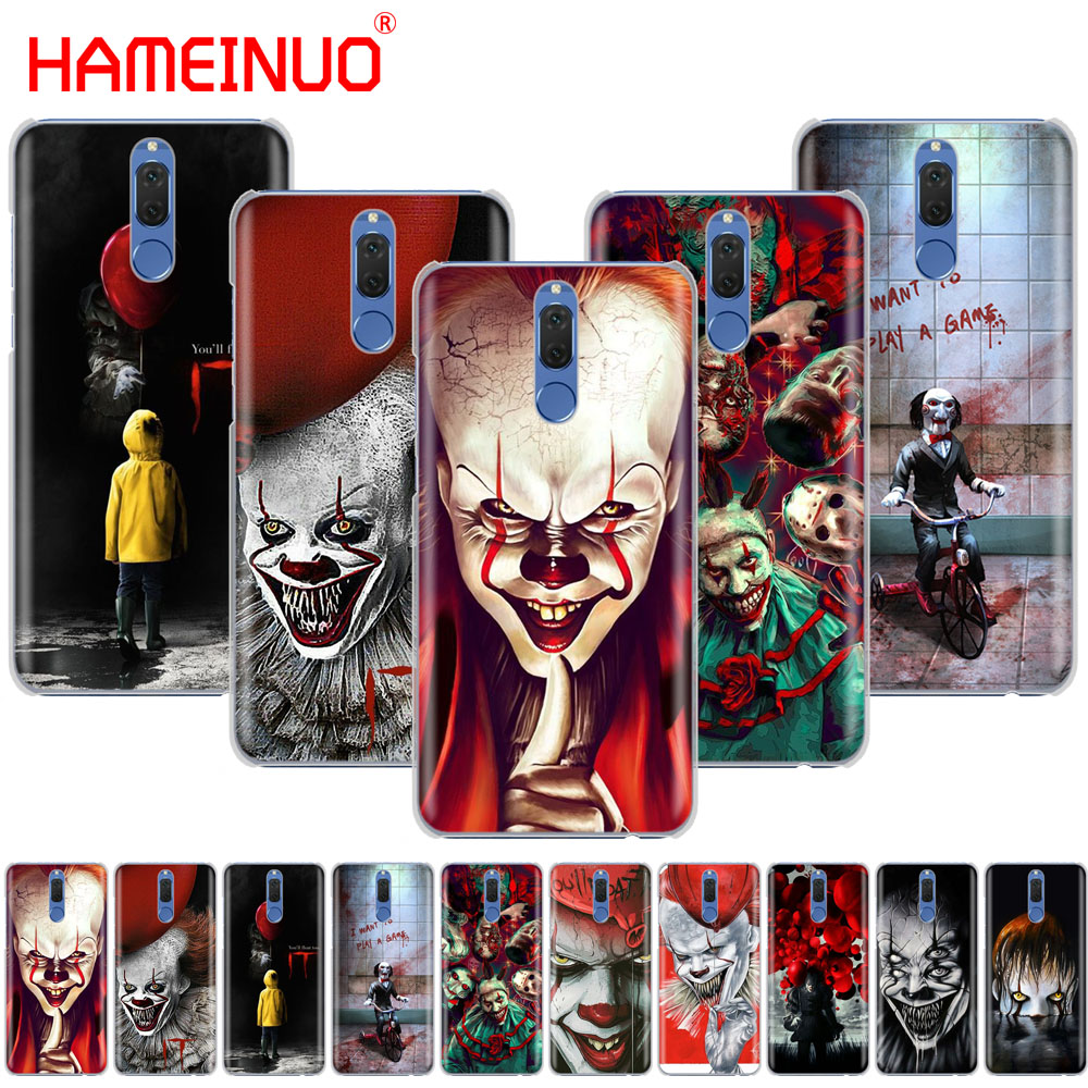 HAMEINUO The Clown Horror IT Cover phone Case for Huawei NOVA 2 2S 3e PLUS LITE P smart enjoy 7s mate 7 8 9 10 pro