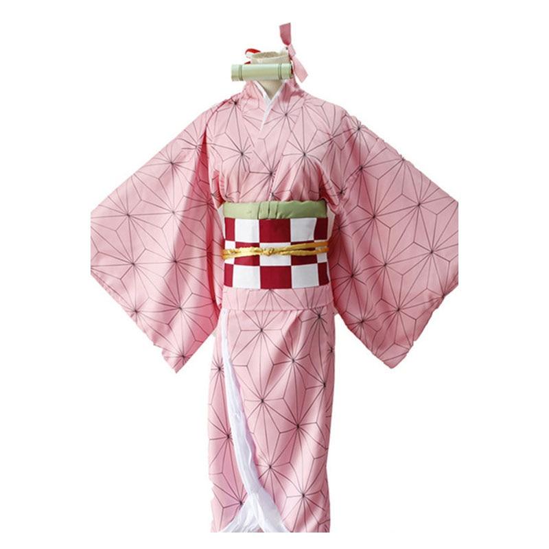 Demon Slayer Kamado Tanjirou Agatsuma Zenitsu Tomioka Giyuu Cosplay Costume