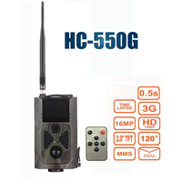 12MP 1080P Hunting Trail Camera 3G Network MMS SMTP SMS Wide Angle Wildlife Camera Suntek HC500G
