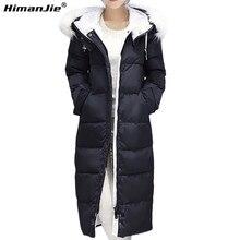 Large Faux Fur collar Women Jacket Medium-Long Hooded Women Cotton Padded jacket Parkas For Women 2016 winter coat Jacket parka