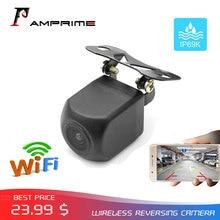 AMPrime беспроводная Wi-Fi Автомобильная камера заднего вида Dash Cam HD ночное видение мини корпус тахограф для IPhone и Android