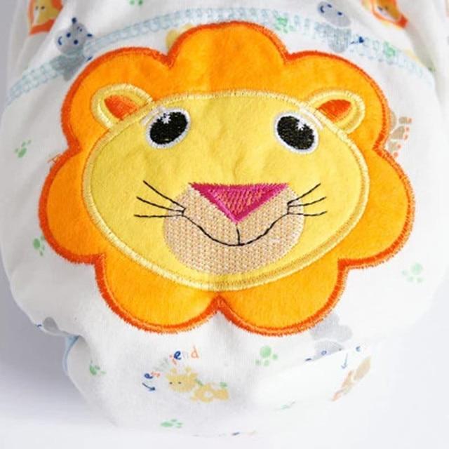 Dziecko bawełniane spodnie treningowe majtki pieluchy dla dzieci ściereczka wielokrotnego użytku pieluchy pieluchy zmywalne niemowlęta bielizna dla dzieci zmiana pieluchy