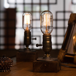 OYGROUP drewniana lampa stołowa romantyczna nowoczesna ściemniająca lampa biurkowa Home romantyczna lampka do czytania oświetlenie do biura do nauki # OY16T10|wood table lamp|table lampdesk reading light -