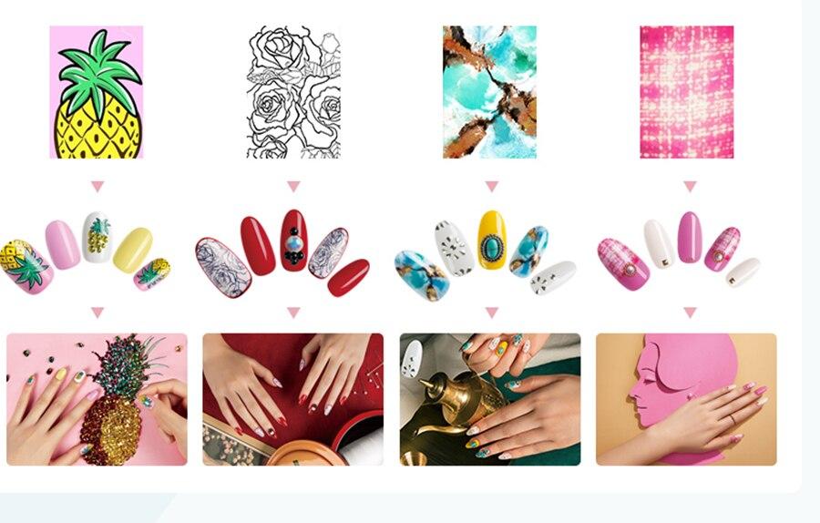 Картинки для принтера для ногтей