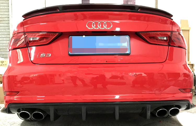 Aliexpress.com : Buy 2014 S3 Rear Diffuser //RS3 Style ...