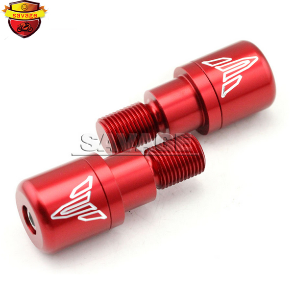 Подробнее о For YAMAHA MT07 MT-07 FZ-07 2014-2016 XSR 700 Red Motorcycle CNC Billet Aluminum Bar Ends Hand Grip Handlebar End Caps Cover motorcycle cnc billet aluminum front fork cover caps for yamaha mt07 fz07 mt 07 fz 07 2014 2015 red free shipping
