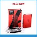 100% Original Kang Kbox 200 w Mod Cuadro Mod KBox 200 w Elektronik Sigara Kangetech Control de Temperatura Kit Mod 18650 batería mod