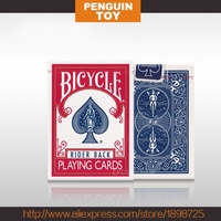 Original Bicycle Poker 1 Pcs Blue Or Red Bicycle Regular Playing Cards Rider Back Standard Decks