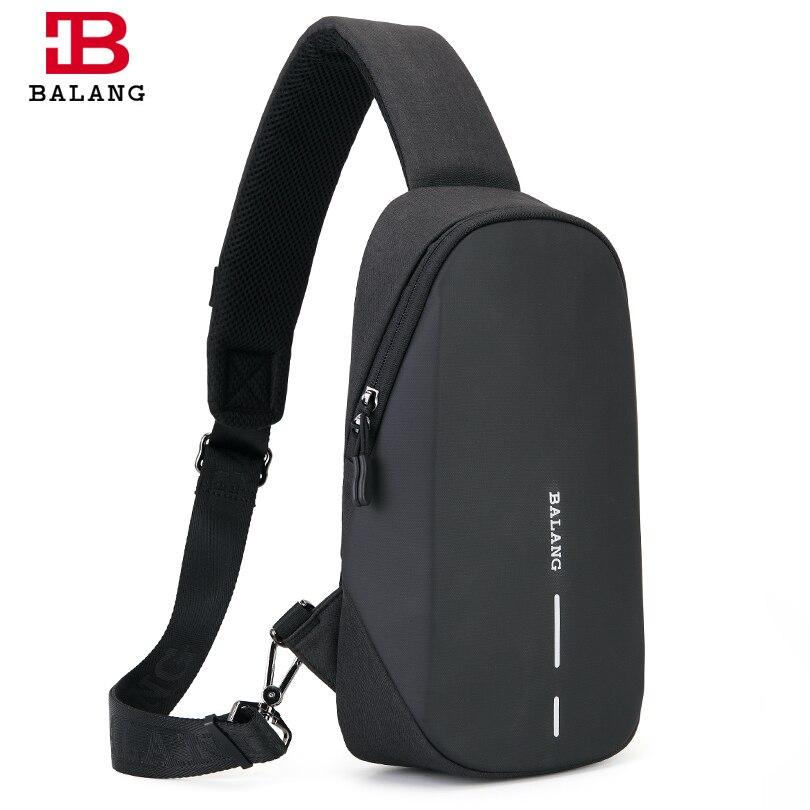 BALANG Brand 2019 New Fashion Shoulder Bags Oxford Waterproof Messenger Bags Multi-function Crossbody Bags Casual Travel Bag