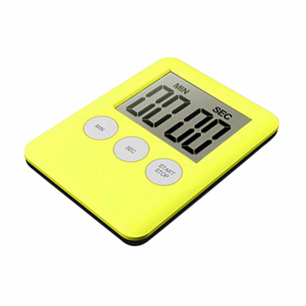 ホット販売大型デジタル Lcd キッチンタイマー · クロック警報磁気量るアクセサリー #200204