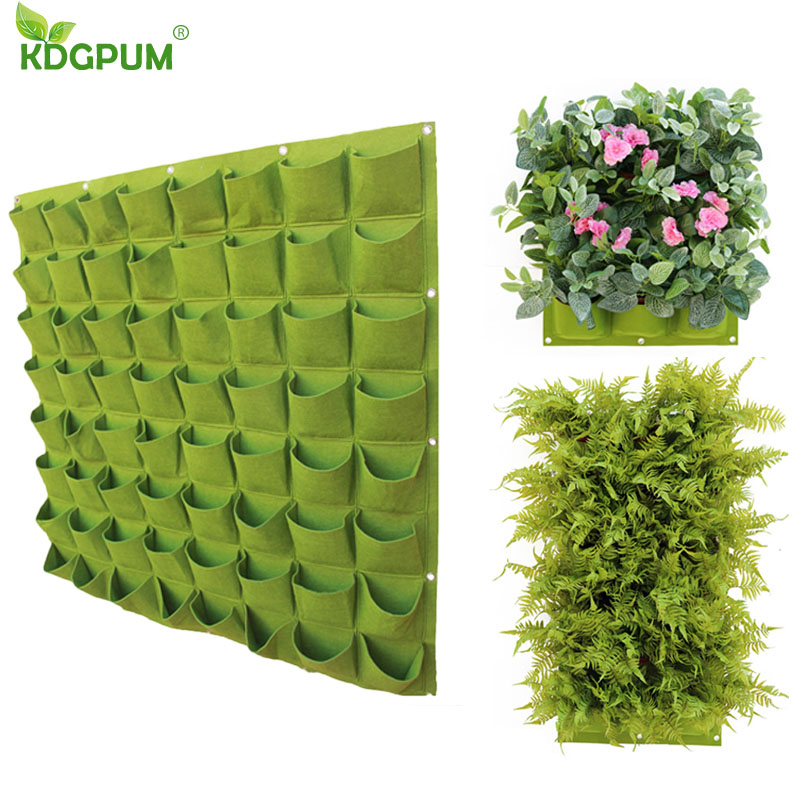 JYCRA Fabric Raised Garden Bed,Garden Patio Growing Kit Planting Container Grow Bag Planter Pot for Plants,Vegetable,Flower