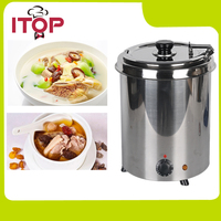 Kitchen Soup Warmer Commercial Or Home Use 5 7L 10L Water Bath Boiler Stainless Steel Body