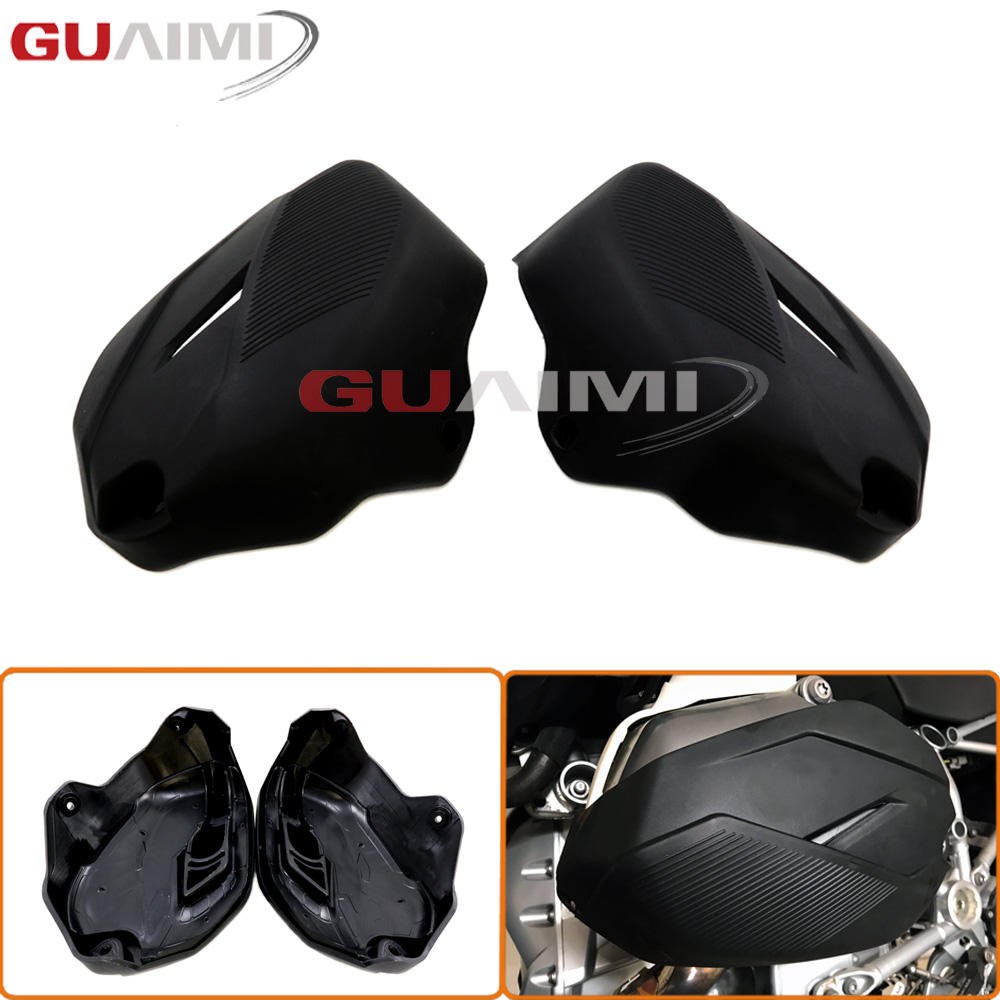 Motorcycle Cylinder Head Guards Protection Cover Accessories For BMW R1200GS LC / ADV 2014 - 2017 R1200R LC R1200RT R 1200 RT LC kemimoto for bmw motorcycle front brake caliper cover protection cover guard for bmw r nine t 2014 2017 r1200gs lc 2013 2015