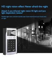 HIPERDEAL Smart Home Automation Modules Accessories Electronic doorbell Keypad Unlock Smart IP Video Door Phone Intercom 12JANN