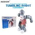 Тамблинг Робот 3-Mode Ассамблеи Kit Игрушки DIY Электрический Робототехники Творческие Развивающие Игрушки Для Детей Kids Подарок