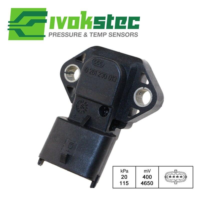 1BAR Intake Air Manifold Pressure MAP Sensor For HYUNDAI Accent X-3 Subaru Forester Impreza Legacy 39330-26300 0261230013 4 bar intake manifold boost pressure map sensor drucksensor for vw audi 03k906051 0281006059
