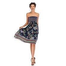 Женское пляжное платье без рукавов yyfs Повседневное средней