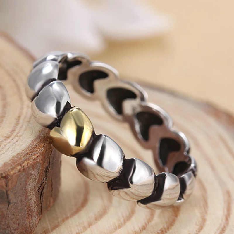 Сердечко из серебра цвет Свадебный перстень с прозрачным CZ оригинальный бренд кольцо для женщин обручальные серьги-гвоздики