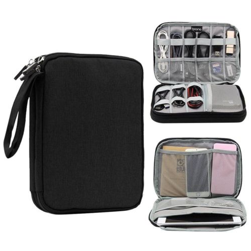 Electronic Accessories Cable USB Drive Organizer Bag Portable Travel Bag CAN convenience to storage the digital product