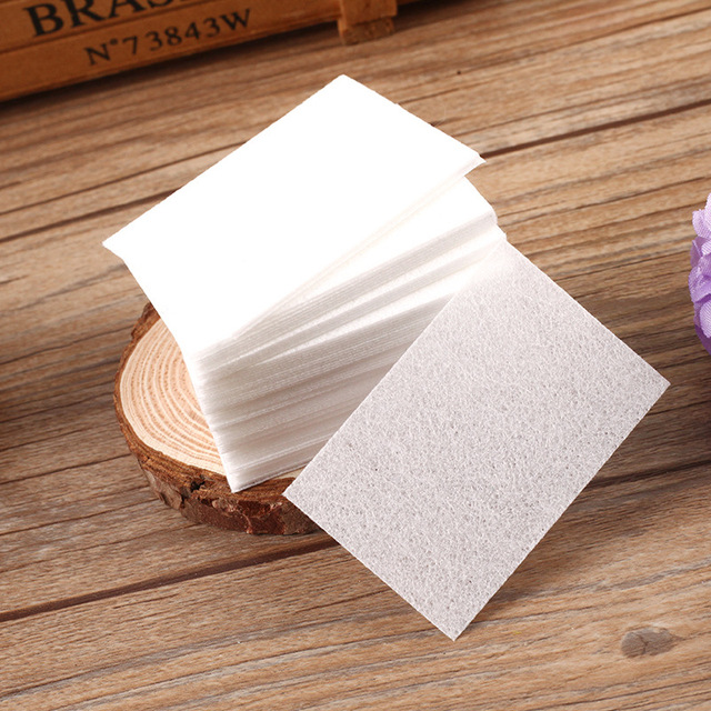 Nail Polish Remover Gel Polish Nail Art Wipes Lint Paper Pad Polish Cleaner Remover Manicure Nail Clean Wipes Cotton