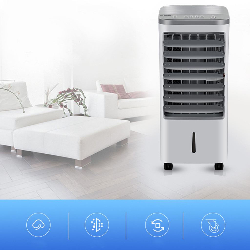 Hvac кондиционер Arctic Air Household Air Cooler Single Cold Type Electric Fan Mobile Vertical Cooling Fan Dropshipping30