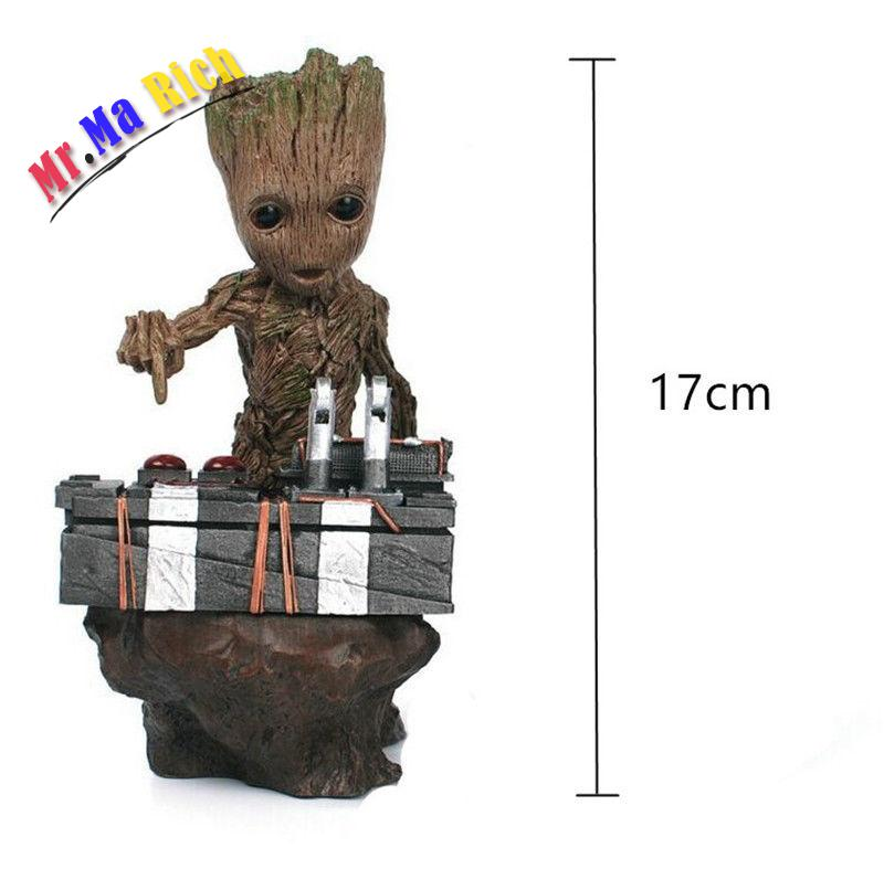 New Baby Guardians of the Galaxy Vol.2 Push Bomb Button Figure Statue Toy