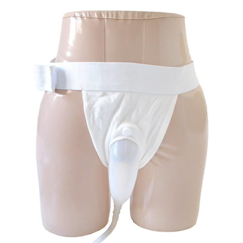 Male Urine Bag Bed Breathable Incontinence Urine Bag Urine Collector Free Shipping