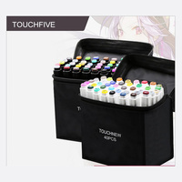 TouchFIVE צבע אמנות מרקר עט שמן אלכוהול מבוסס ציור אמן סקיצה סמני עט עבור אנימציה מנגה אספקת אמנות