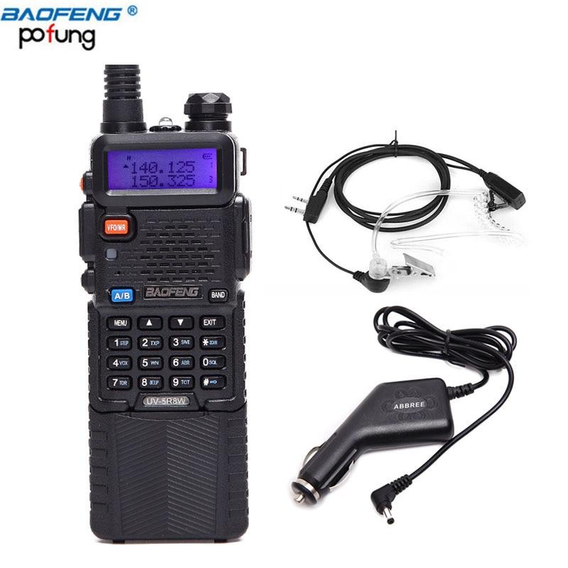 Baofeng UV 5R8W Two Way Radio 8W 4W 1W Portable Radio Walkie Talkie 3800mAh Battery One