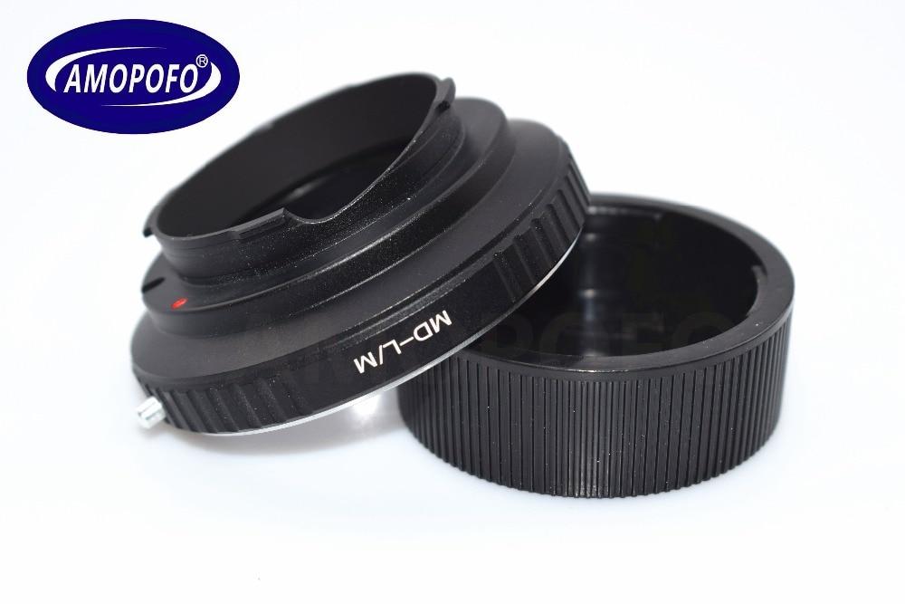 MD-LM-adapteri Minolta MD-objektiivi - Leica M L / M M9 M8 M7 M6 M5 - Kamera ja valokuva - Valokuva 2