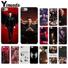 Yinuoda American TV Lucifer TPU Soft Silicone Phone Case Cover for Apple