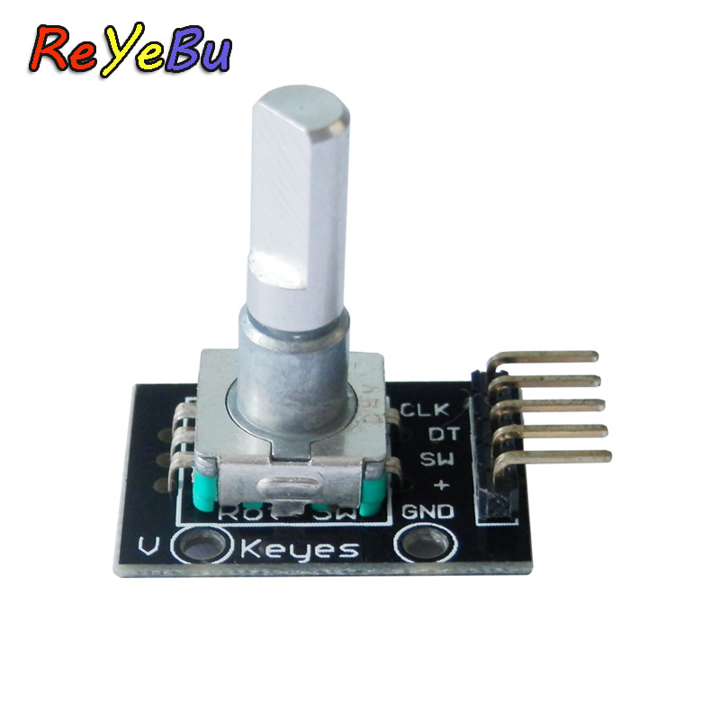 360 Degrees Rotary Encoder Module For Arduino Brick Sensor Switch Development Board With Pins