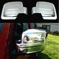 2 PCS ABS cromado Tampa Espelho Lateral Porta Espelho Retrovisor Pariot Covers Guarnição Para jeep 2011-2015