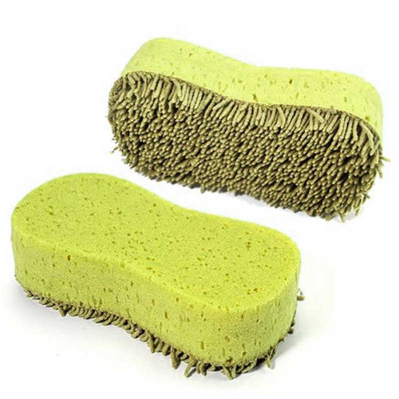 Car-styling shunwei Brushes Practical Car wash Cleaning Washing Cleaner Coral Microfiber Sponge Brush For Auto Car td10 dropship