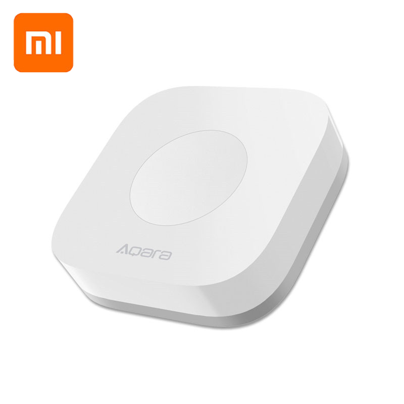 Xiaomi Mijia AQara Smart Multi Functional Intelligent Wireless Switch Key Built In Gyro Function Work With Android IOS APP-in Smart Remote Control from Consumer Electronics