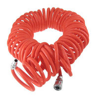 12M 39 Ft 10mm X 6 5mm Flexible PU Recoil Hose For Compressor Air Tool