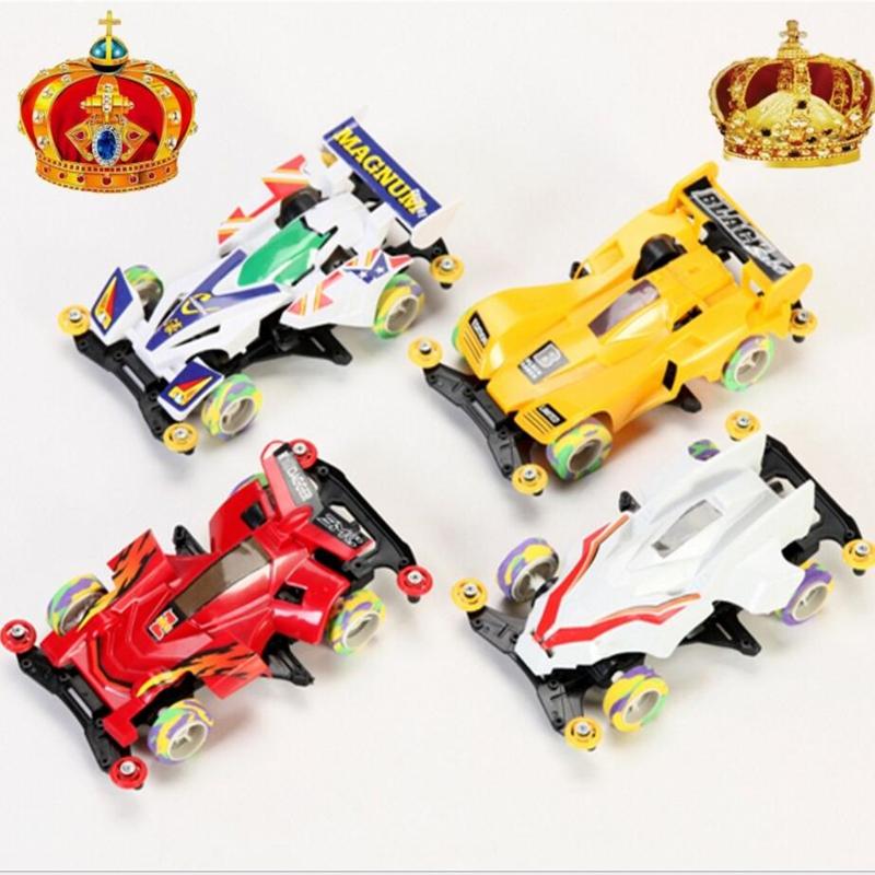 diy juguete modelo de traccin en las cuatro ruedas de carreras de f coche de juguete