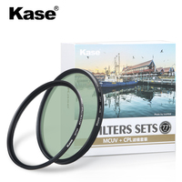 kase 67 72 77 82 mm mcuv+cpl 8HD MRC SMP CIAA waterproof oil resistance B270 optical glass Lens filter for canon nikon camera
