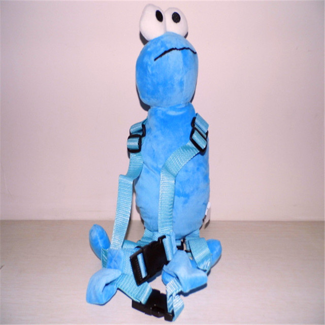 cd53a50cd9 Harness Buddy Blue Elmo 2-in-1 Harnesses Backpack Baby Plush Toy Bag Toddler
