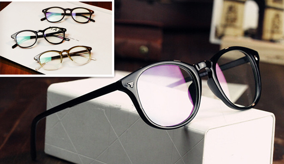 13d17883b2 Vintage Men Women Eyeglass Frame Glasses Retro Spectacles Clear Lens Eyewear  Full Rim Rx able 206
