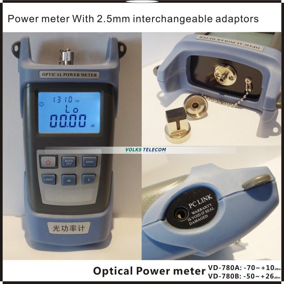 Image 3 - FTTH fiber optic power meter VD708A  VD708B free shippingoptical poweroptical power meterfiber optic power meter -