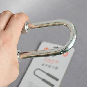 Image 2 - U shaped Handle 50 130 kg / 80 180kg Adjustable Increase Strength Spring Finger Grip Extender handheld instrument exerciser