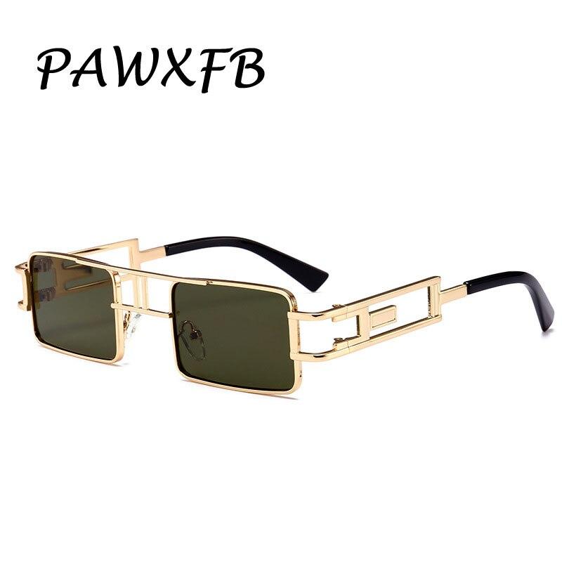 PAWXFB 2019 New Steampunk Sunglasses Women Men Celebrity Sun Glasses High quality Lunettes de soleil